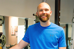 Joshua Hutchins is a Certified Personal Trainer with Core Results Personal Training