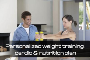 personalized in home training plan