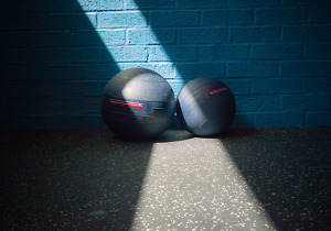 Medicine balls for power training